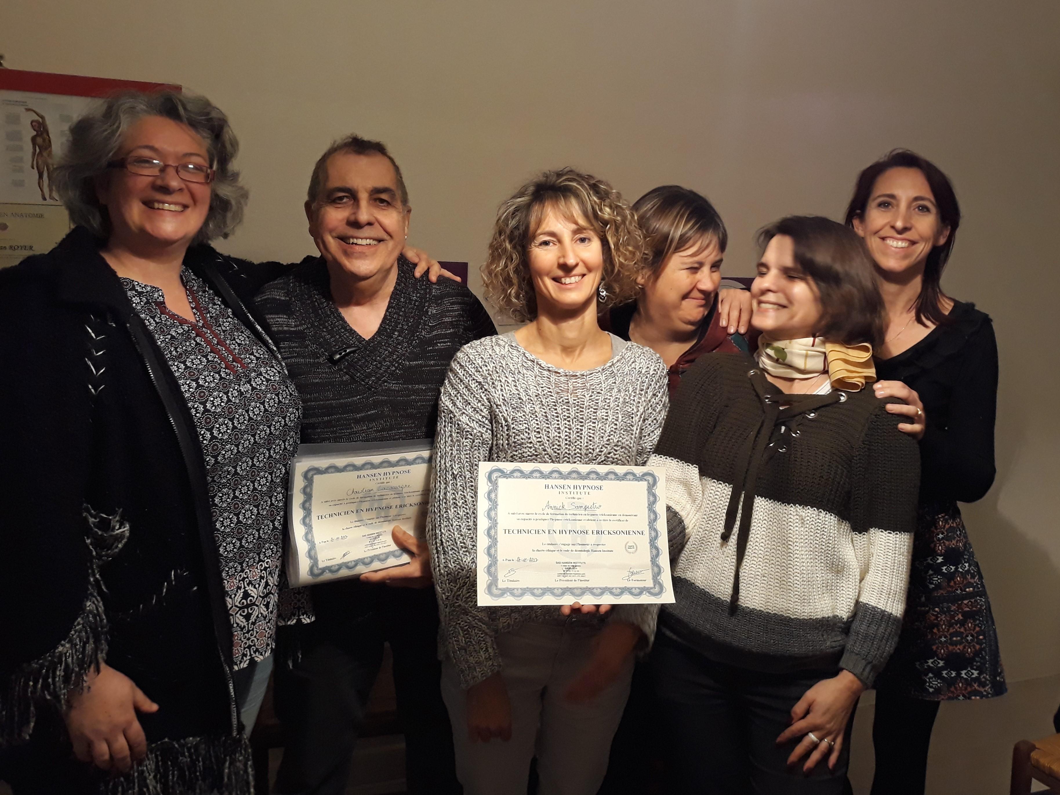 Certification Praticien en hypnose certifié