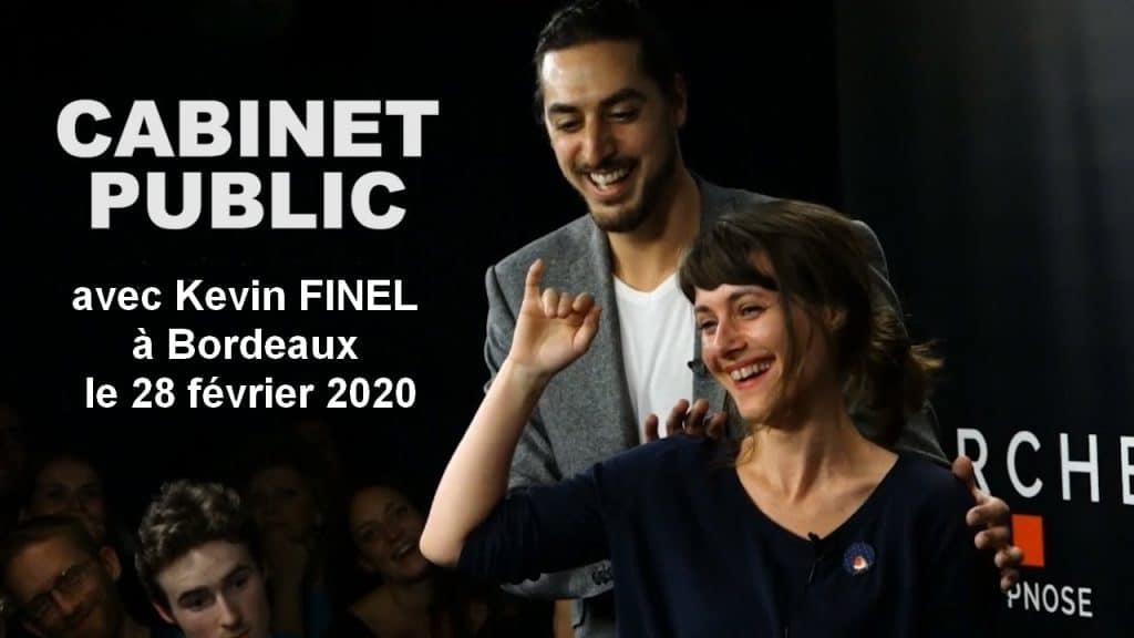 Cabinet Public - Kevin FInel - Arche Paris 2019